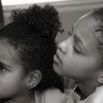 sisters gazing
