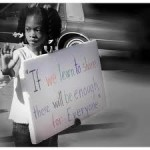 Occupy Schools - little girl