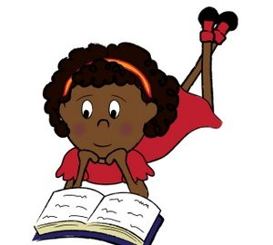black_child_a_girl_reading_a_book