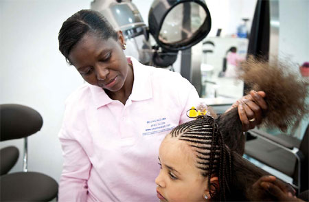Beijing S First African Hair Salon Pac