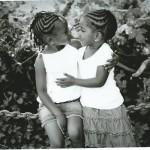 Sibling School Pic 2013 bw